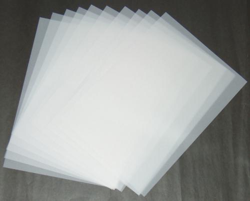 pergamentpapier transparentpapier din a4 in top 150g m qualit t 10 blatt online shop. Black Bedroom Furniture Sets. Home Design Ideas
