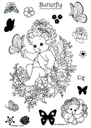 CLEAR SILIKON Morehead STEMPEL ANGEL Nr.0103
