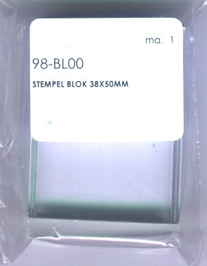Acrylblock für Clearstamp Stempel 38 mm x 50 mm