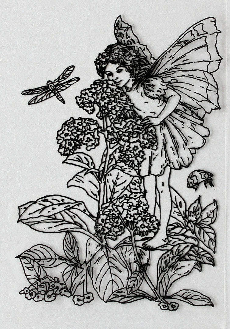 Clear Stamps Silikon Stempel - Flower Fairies Nr.01
