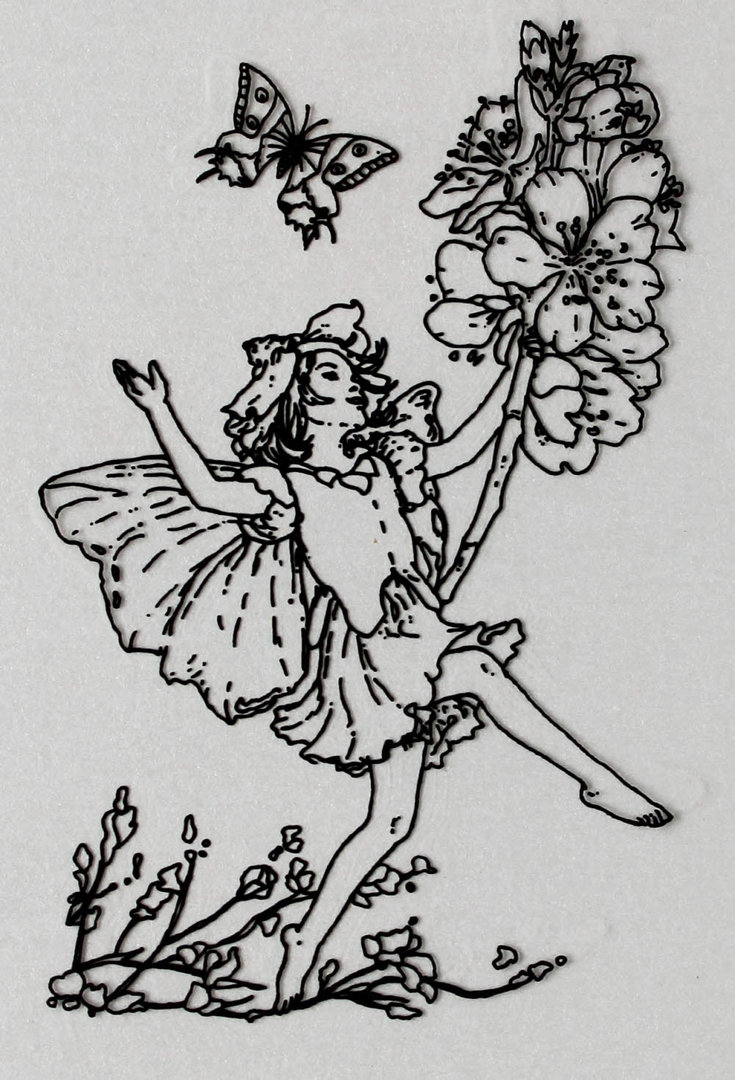 Clear Stamps Silikon Stempel - Flower Fairies Nr.03