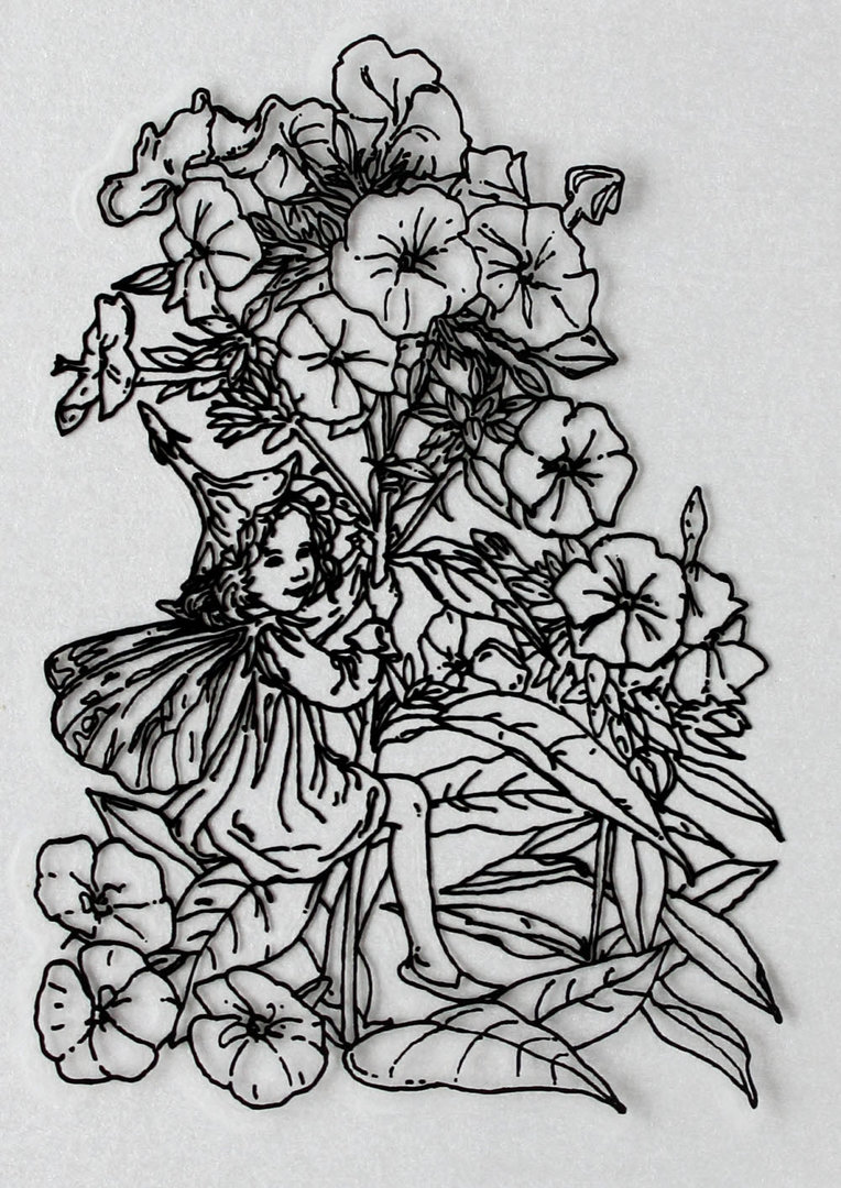 Clear Stamps Silikon Stempel - Flower Fairies Nr.02