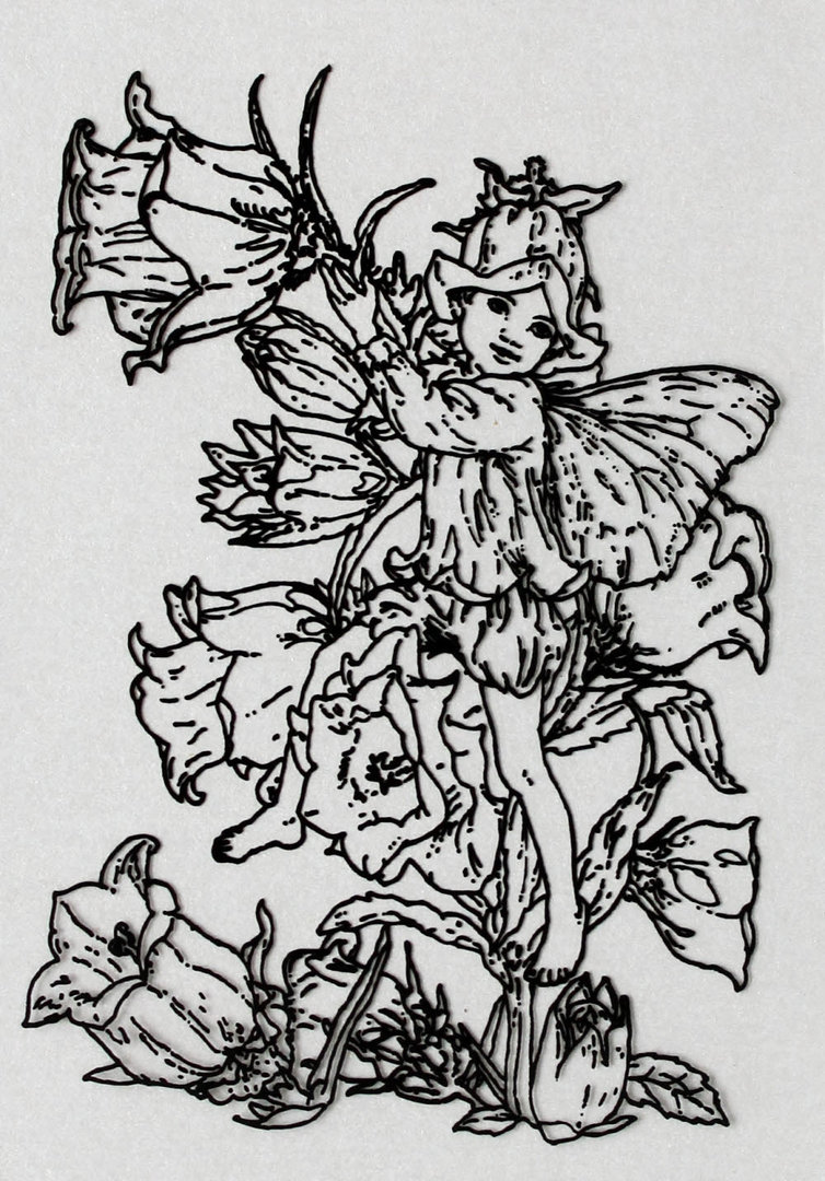 Clear Stamps Silikon Stempel - Flower Fairies Nr.06