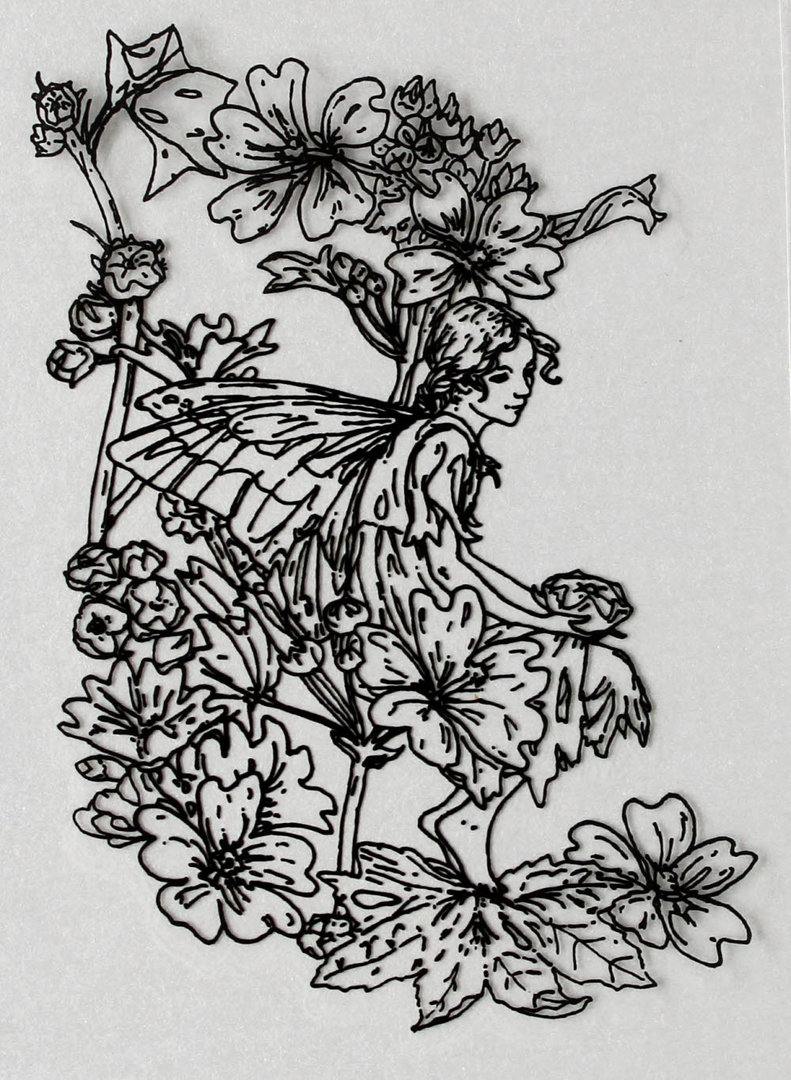 Clear Stamps Silikon Stempel - Flower Fairies Nr.07