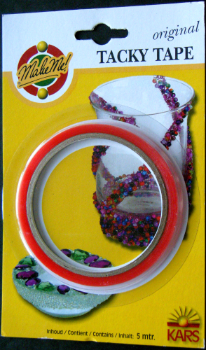 Tacky Tape original 6 mm - 5 m Nr.5626 transparent
