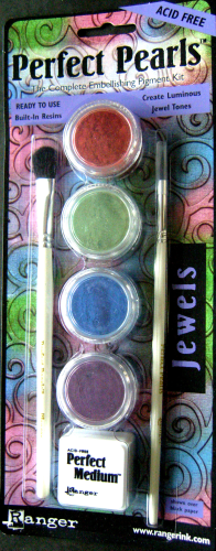 "Ranger Perfect Pearls Pigment Puder Kit Nr.6007  Starterset ""Jewels"""