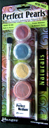"Ranger Perfect Pearls Pigment Puder Kit Nr.5987 Starterset ""NATURALS"""