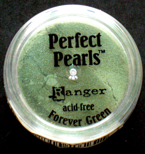 Ranger Perfect Pearls Pigment Puder Nr.7882 Forevwer Green