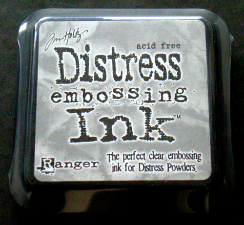 Ranger by Tim Holtz Stempelkissen DISTRESS embossing Ink claer